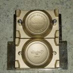 Form für halbautomaten seifenpresse