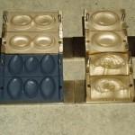 Formen für halbautomaten seifenpresse